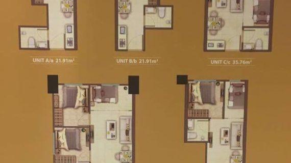 Show Unit Berbagai Tower Apartemen Meikarta, Tower A, B, C, D, S, T