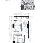Apartemen Meikarta Tower A, Unit B, Blok 39021, Luas 82.91