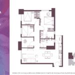 Apartemen Meikarta Tower A, Unit C, Blok 62007, Luas 98.28