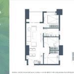Apartemen Meikarta Tower B Unit D, Blok 56007, Luas 68.74