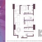 Apartemen Meikarta Tower A Unit F, Blok 52023, Luas 84.56