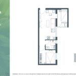Apartemen Meikarta Tower B Unit G, Blok 38020, Luas 47.1