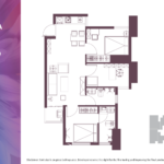 Apartemen Meikarta Tower A Unit G, Blok 62007, Luas 75.22