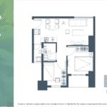 Apartemen Meikarta Tower B Unit H, Blok 50021, Luas 57.07