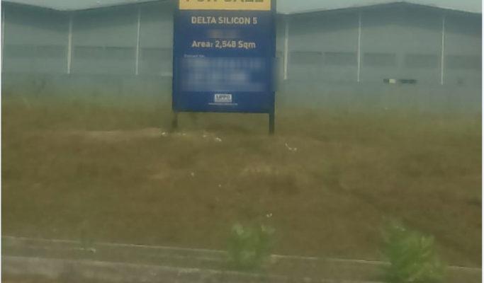 Lahan Industri Delta Silicon 5 Lippo Cikarang