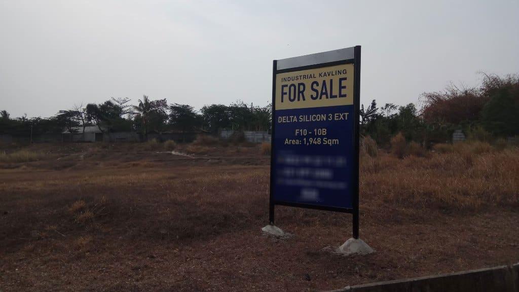 Delta Silicon 3 Extension Lippo Cikarang, Tanah Industri