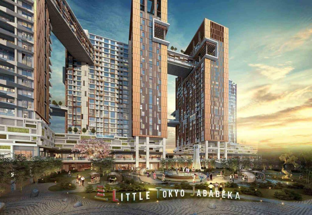 apartemen little tokyo jababeka master plan