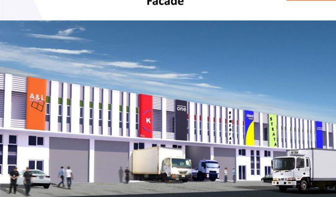 Ruko Delta Commercial Park 1 Extention Lippo Cikarang