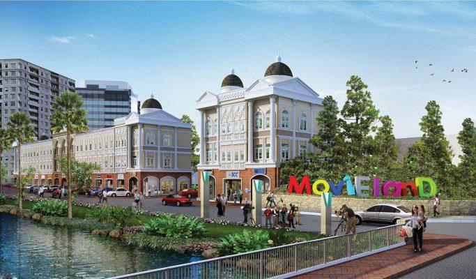 Ruko Movie Boulevard Jababeka Cikarang