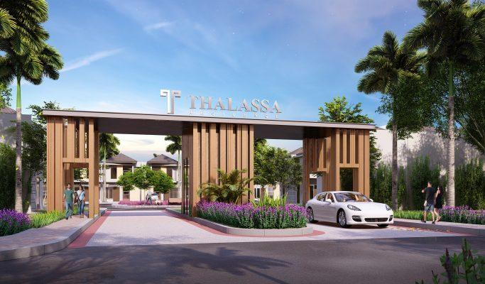 Cluster Thalassa Residence Galuh Mas Karawang Barat