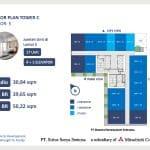 Apartemen Vasanta Innopark Tower Chihana Type Studio