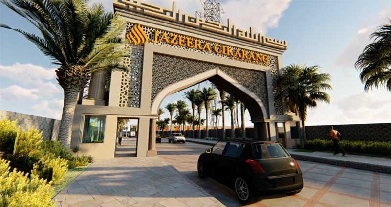 Jazeera cikarang residence, perumahan dekat Presidet University Jababeka