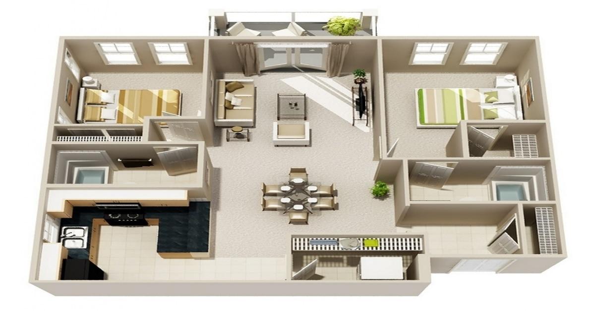 Gambar Rumah 21 Modern Cocok Untuk Pasutri Muda