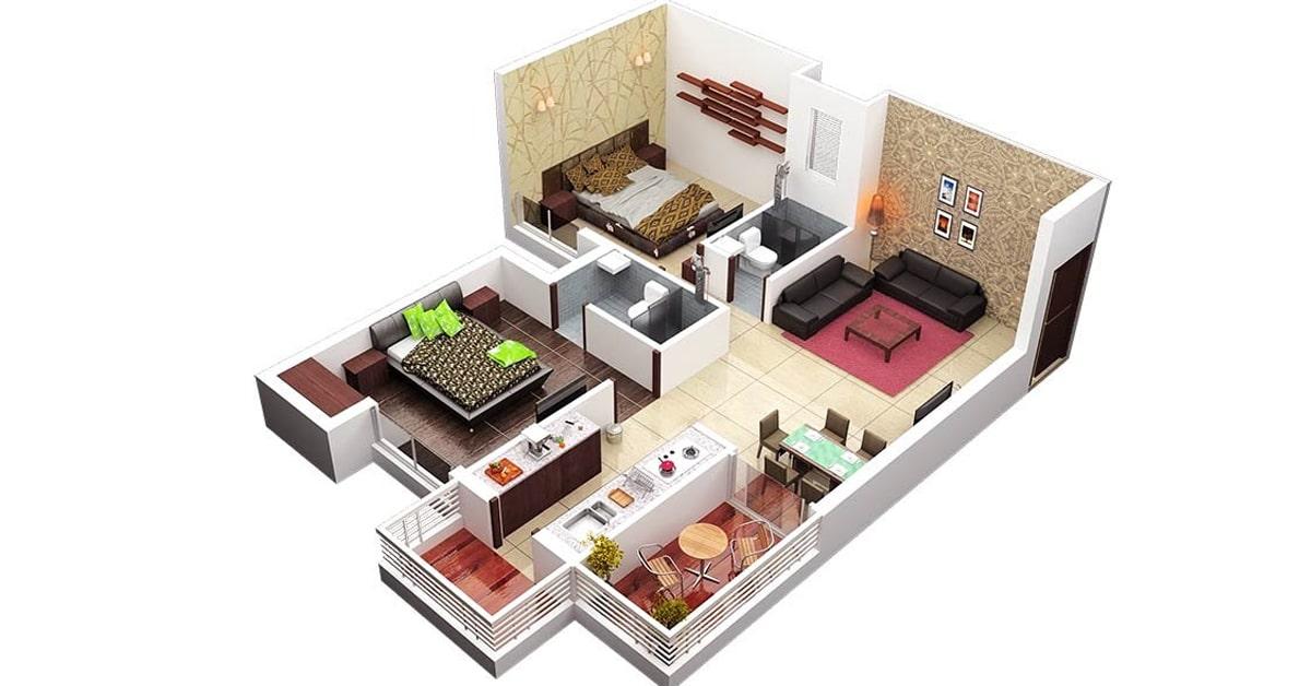 Tipe Desain Rumah 45 Minimalis yang Apik dan Keren